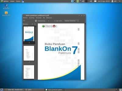 Blankon Linux Pattimura Tampilan Klasik Gnome Panel